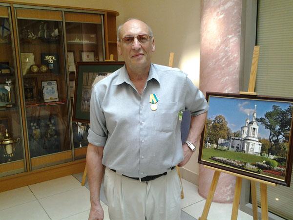 Писатель из Санкт-Петербурга получил награду Москвы!