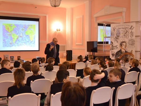 Встреча детского писателя Саши Кругосветова с читателями