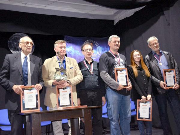 Награждение лауреатов фестиваля «Аэлита»
