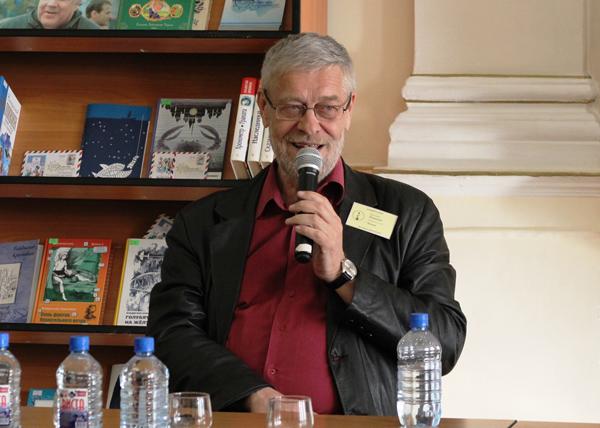 Виталий Пищенко на фестивале фантастики «Аэлита»