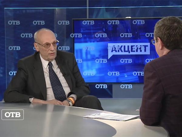 Саша Кругосветов в телепрограмме «Акцент»