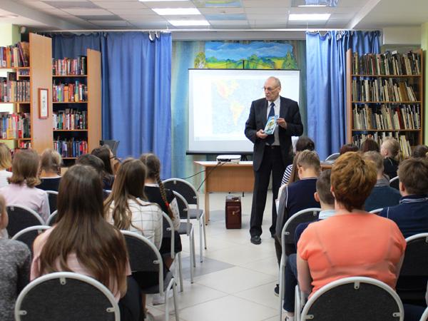 Встреча с юными читателями в библиотеке Екатеринбурга