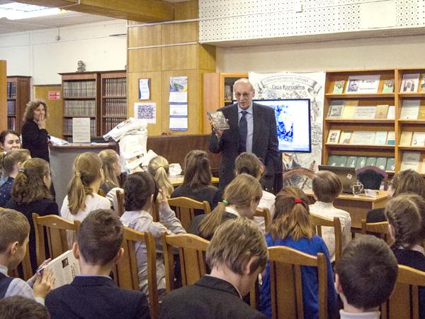 Встреча с юными читателями в библиотеке имени Паустовского