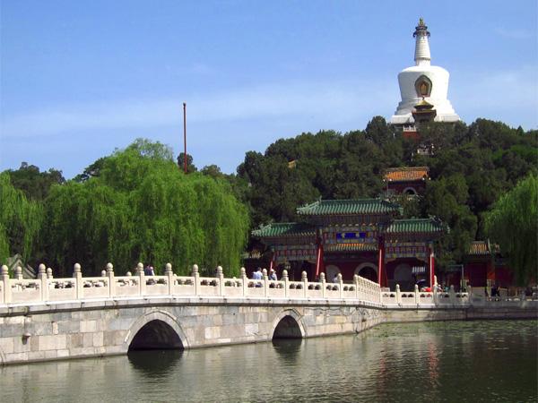 Китайские певуны в парке Бэйхай
