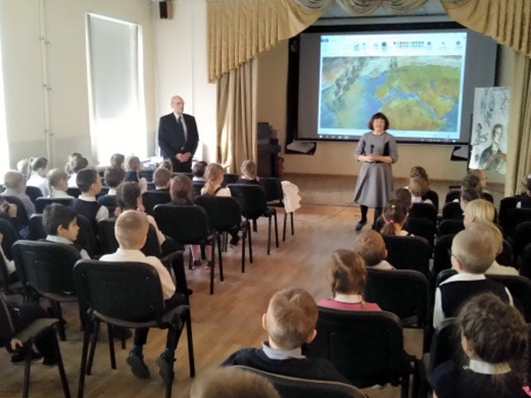 Встреча с учащимися петербургского физико-математического лицея № 366